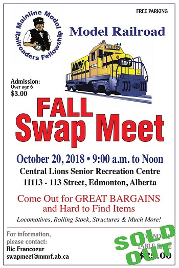 MMRF Fall 2018 Swap Meet